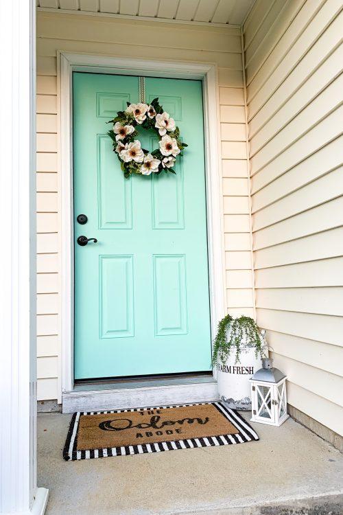 Painting Your Front Door DIY
