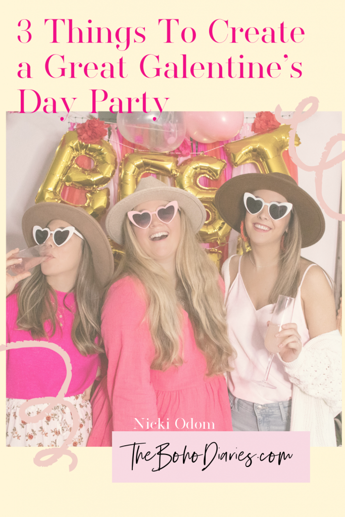 Galentine's Day Party The Boho Diaries