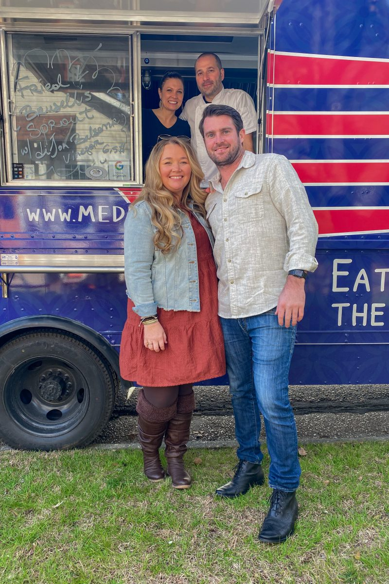 Nicki and Morgan Odom with Medi Bites Food Truck