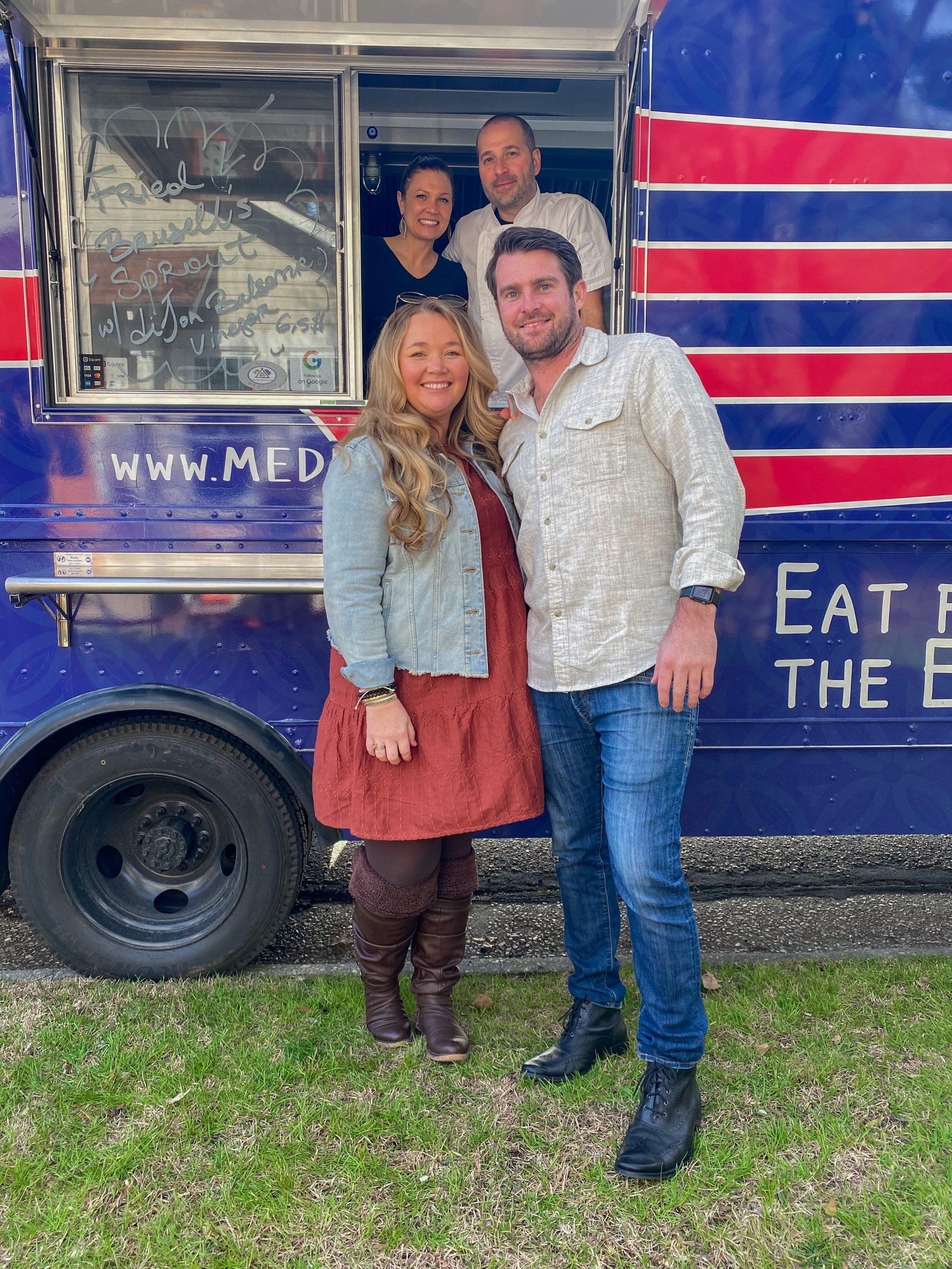 Nicki and Morgan Odom with Medi Bites Food Truck