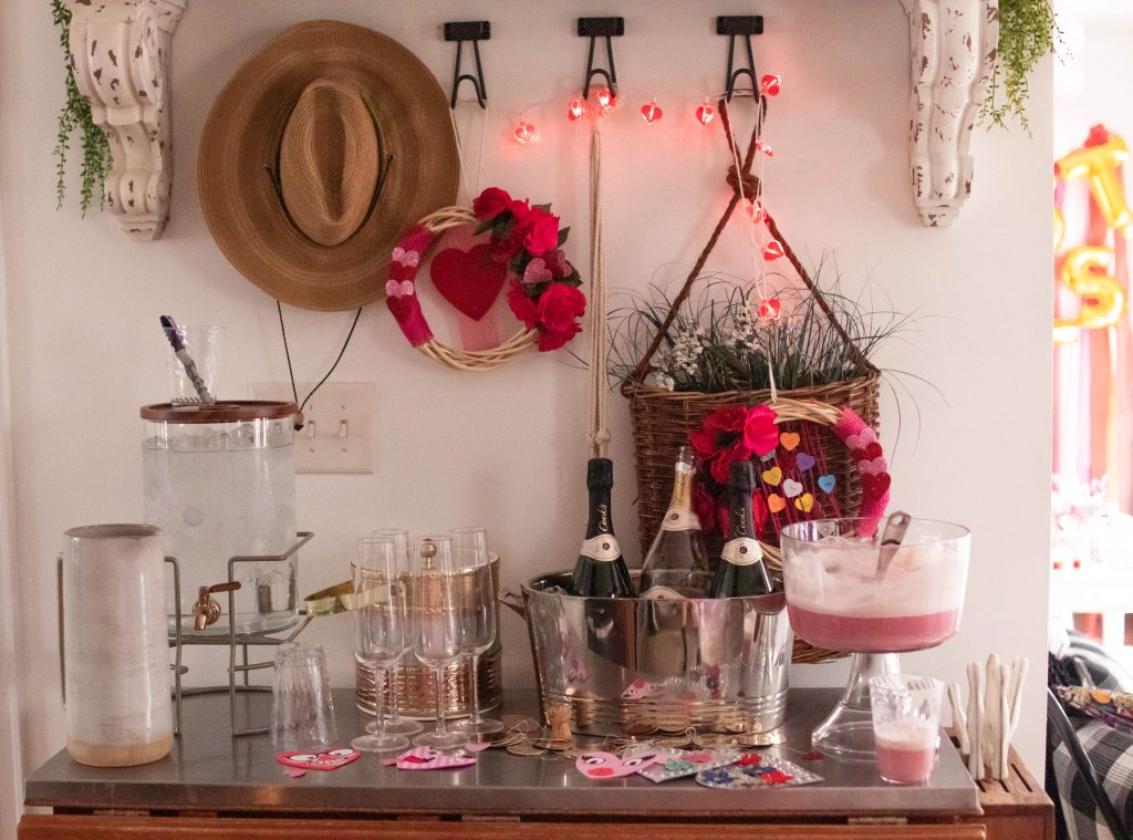 The Boho Diaries drink area