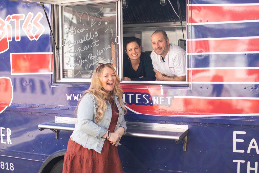 Nicki Odom with Medi Bites Food Truck Fayetteville North Carolina