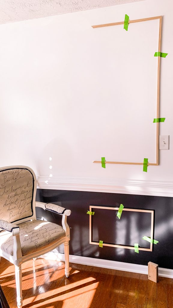 Dining Room Wainscoting Project DIY