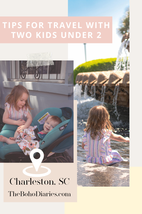 5 Tips For Traveling With Two Kids Under 2