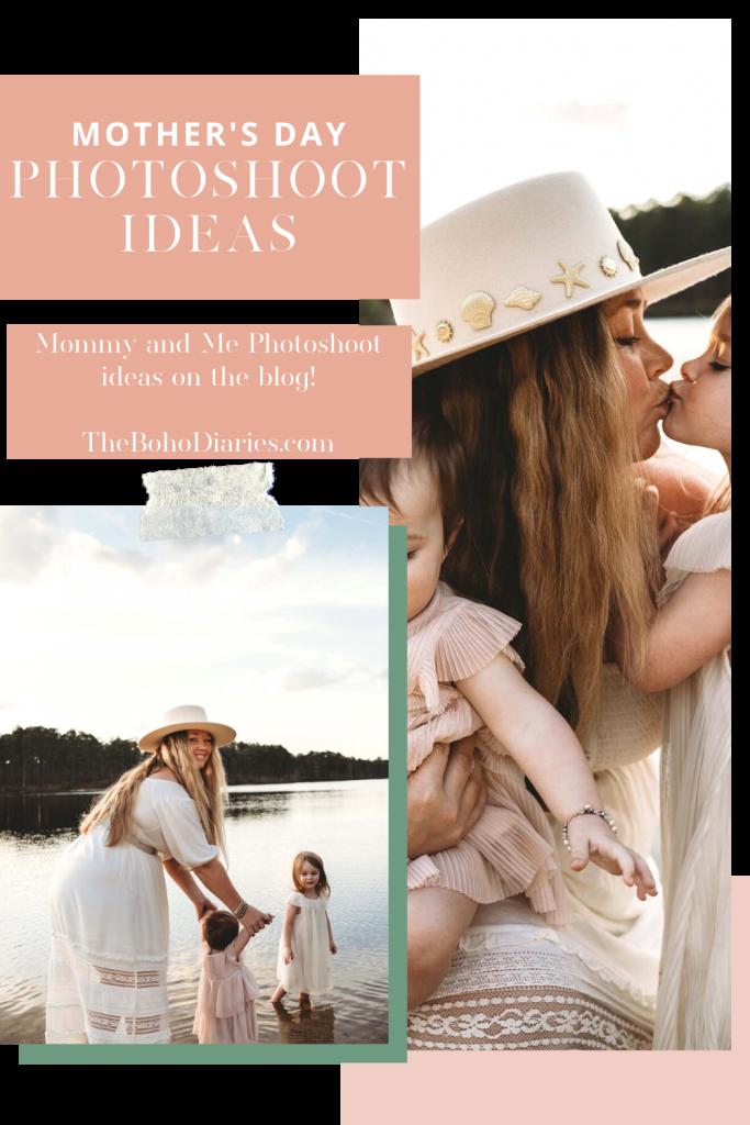Nicki Odom Mother's Day Photoshoot Blog Post