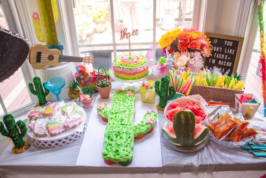 Three-esta Birthday party