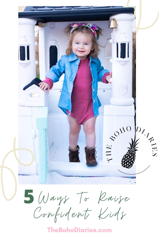 Raising Confident Kids Blog Post