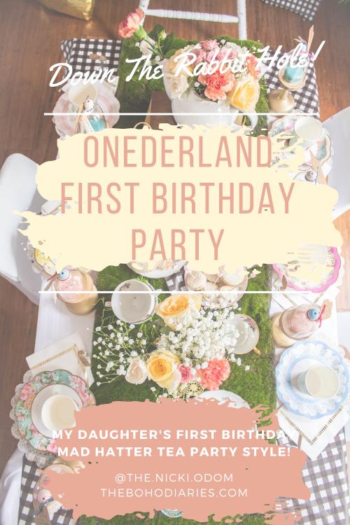 One-derland First Birthday Party