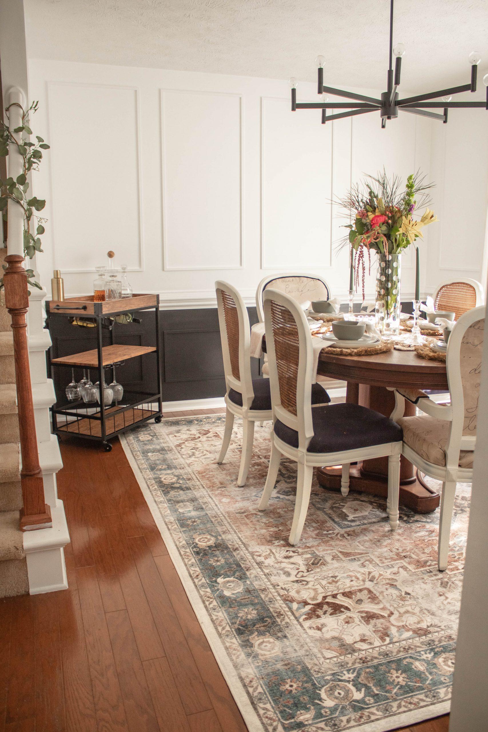 Boho Diaries Dining Room Decor