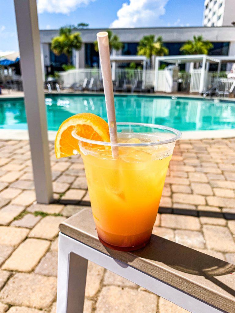 Hotel Ballast Poolside bar Wilmington NC