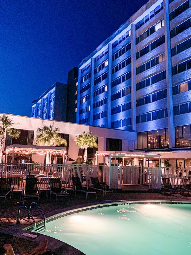 Nicki Odom at Hotel Ballast in Wilmington NC