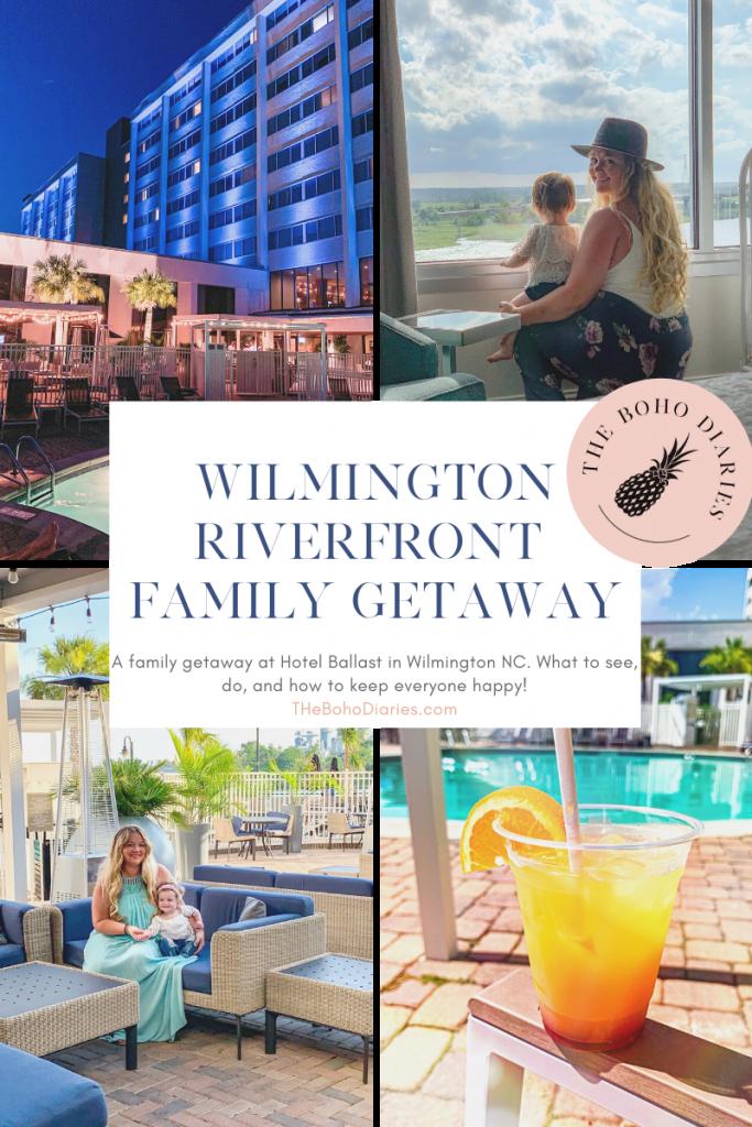 The Boho Diaires at Hotel Ballast Wilmington NC Family Travel Blog