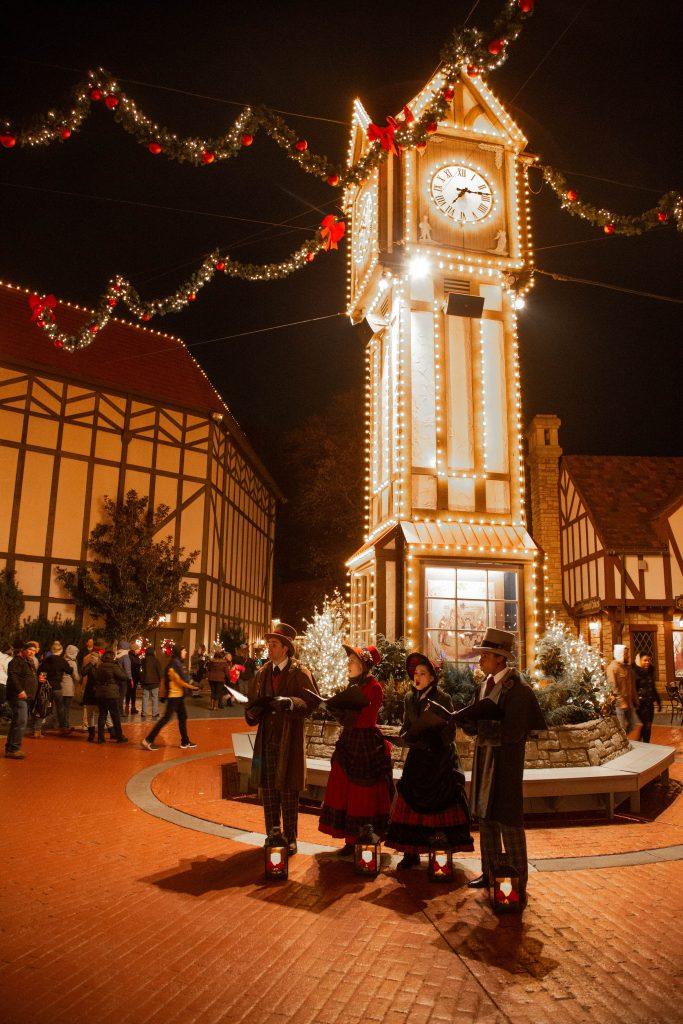 Christmastown in Busch Gardens Williamsburg VA
