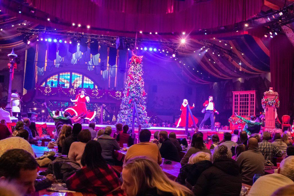 Christmastown at Busch Gardens Williamsburg