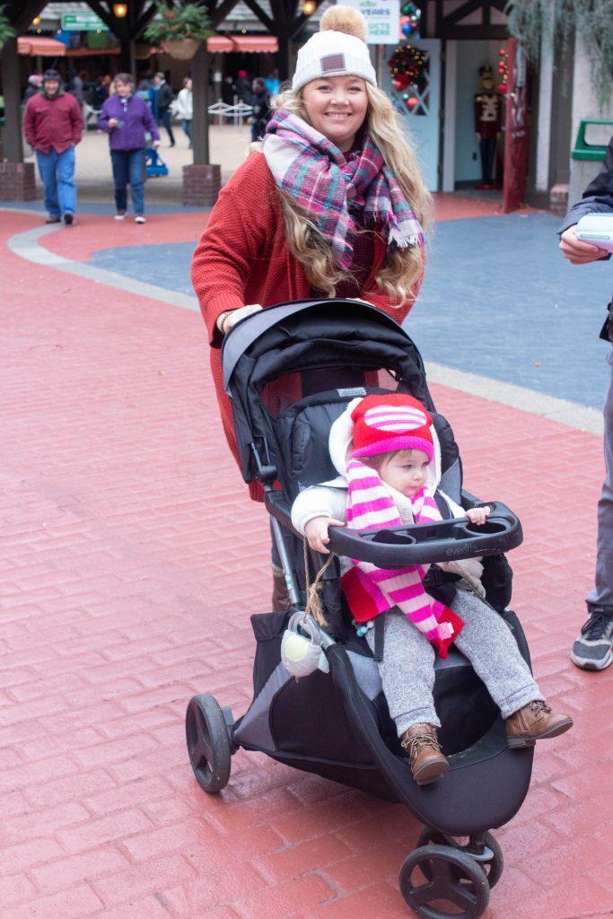 Christmastown in Busch Gardens Williamsburg