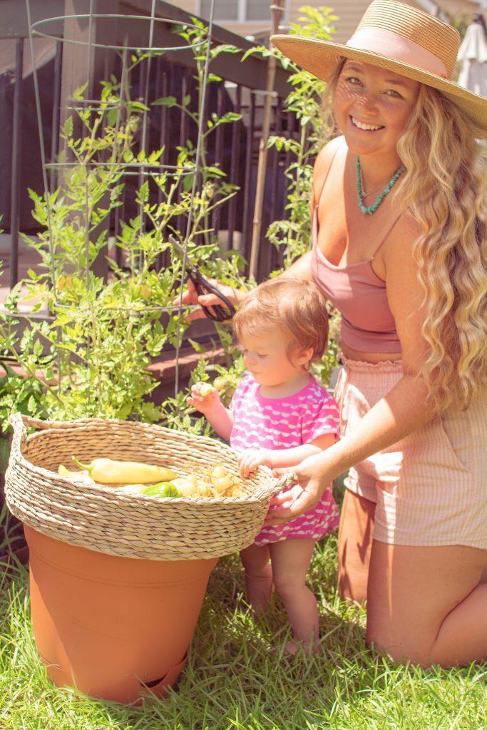 Nicki Odom home garden