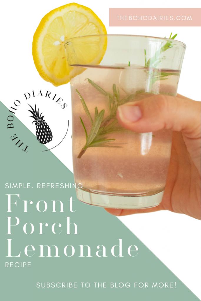 Front Porch Pink Lemonade Cocktail Recipe