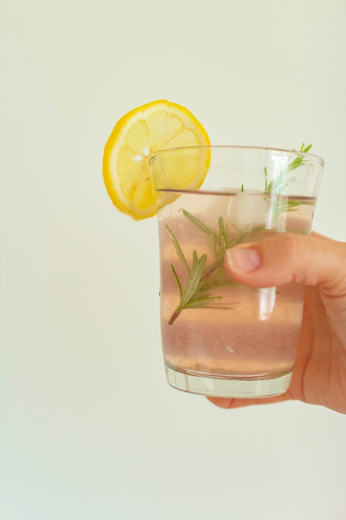 National Lemonade Day with a pink lemonade cocktail