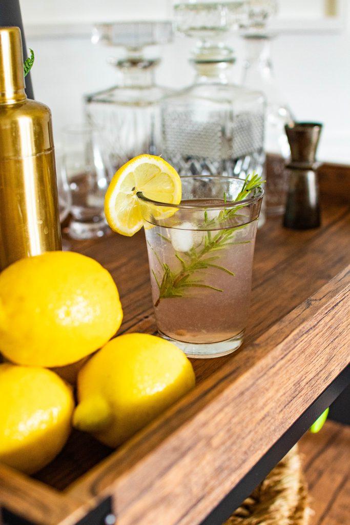 Pink Lemonade Cocktail for National Lemonade Day by Nicki Odom on The Boho Dairies