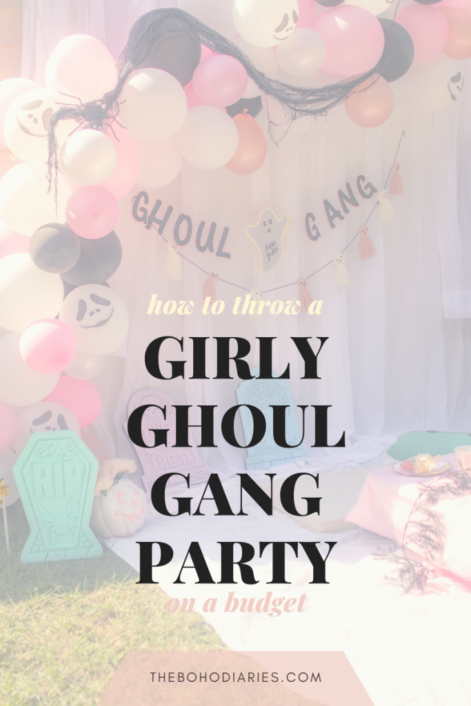 Ghoul Gang Party Blog Post