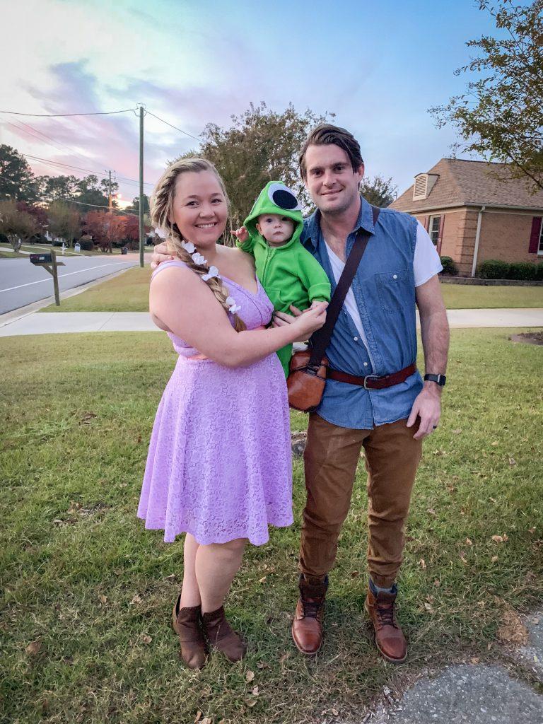 Family Halloween Costume Idea Tangled