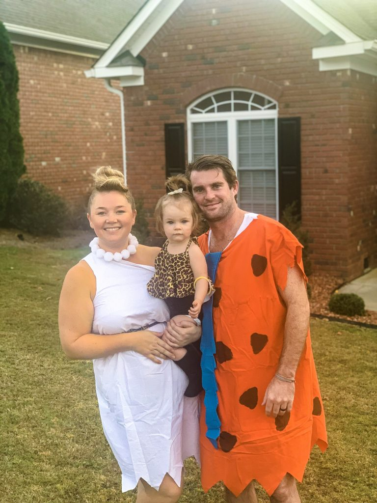 Family Halloween Costume Idea The Flintstones