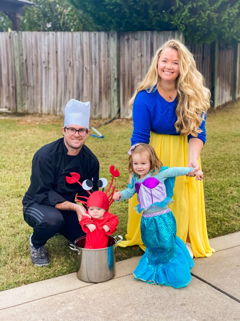 Family Halloween Costume The Little Mermaid