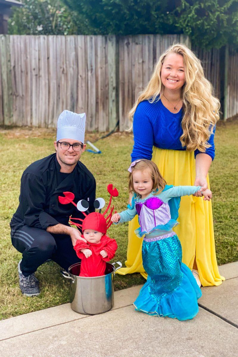 Family Halloween Costumes The Little Mermaid