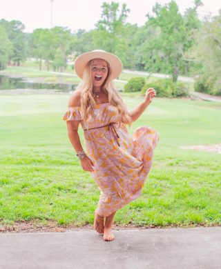 I've got smiles for miles because I get to see an good friend I haven't seen in a while and I got that Friday Eve feeling ✨💃🏼  This floral boho midi dress is another perfect transitional piece from summer to fall when you throw a denim jacket or maybe a white leather jacket over it! I am wearing it in a size large, and my hat is M/L 💗 Follow my shop on the @shop.LTK app to shop this post and get my exclusive app-only content!  http://liketk.it/3nn8y  Tan: @sunshinebeautyandbliss ✨🙌🏼 #thebohodiariesstyle  #transitionalstyle #LTKSeasonal  #LTKcurves #mididress #midsizestyle #affordablefashion #bohostyles #bohofashionstyle #bohomama #fashioninmotion #southernstyle #midsizefashion #curvyfashion #curvygirlsrock #floraldresses #fridayeve #offtheshoulderdress #widebrimhat #fashionblogging #felthat #ltkfashion #styleblogging #northcarolinablogger #fayncbloggers #fayettevilleblogger #ncblogger #raleighblogger #sizelarge