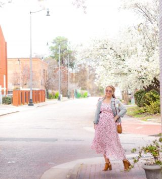 Sometimes I like to hang out on downtown sidewalks channeling my inner Carrie Bradshaw to get the inspiration flowing💻 I hit a little creative rut but spent the weekend relaxing and regrouping creatively. Days like those are always a necessity. Plus, these flowering pear trees are screaming to be photographed ammiright?! Just wait until the NC dogwoods start to bloom☺️ it will be filling my feed🌸🌳  Maxi dress for spring is my go to for an easy spring style look. Maxi dresses and skirts are the easiest curvy girl style outfits!  Shop this look 👉🏼 http://liketk.it/3b3Jt @liketoknow.it  #liketkit #LTKSpringSale #LTKstyletip #LTKunder50 #curvygirlfashion #ltkspringstyle #maxidresses #midsizestyle #midsizefashion #midsizeblogger #affordablefashion #affordablestyle #fullfiguredfashion #downtownfayettevillenc #springstyles #bohostyles
