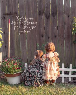 Watching my two little flowers bloom🌻🌸 Is the greatest honor and blessing God has given me.  As their mother, as a woman with ambition, as a someone who hopes to shine a light on how important loving yourself through all walks of life is, my goal is to raise them wild, kind, ambitious, respectful, and independent.   Our in-ground garden is underway and we still have tons of tomatoes and peppers coming in, we planted flowers, and blueberries and am hoping to get pumpkins planted this weekend, even though it may be too late. We decided to get dressed up and pick some flowers in their new fall dresses from @pippaandjulie 🍂✨ Aren't they sweet?! They gifted the girls a few fall outfits and their styles are so adorable!   Swipe to see how difficult it is to get pictures of Caroline these days😂 #pippaandjulie #kidsfashion #fallflorals #bohodresses  #babygirlstyle #toddlergirlstyle #sistersquad #littlesisterbigsister #bestfriends #sistersarebestfriends #growwild #1000hoursoutside #inthegarden #fallstyle #autumnstyles #girlmama #bohobaby #bohomama #partydresses #northcarolinablogger #babiesdontkeep #letthemplay