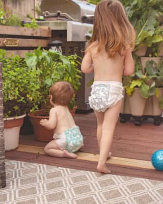 Happy Saturday friends! We're headed to the beach for some quality r&r today🌞  Who am I kidding? We have #twounderthree we won't have #randr for atleast 16 years😅  Here's my two #littlegardeners checking on our @bonnieplants veggies this week in their #ootd preferences 🥳 I hope everyone has a great weekend!   #homegardeners #saturdayvibes #aesthetic_photos #homegardening🌱 #teachthemyoung #saturdaymornings #homegrownfood #homegrownveggies #homegrownherbs #patiogarden #patiodecor #backdeck #toddlerhairstyles #babiesdontkeep #1000hoursoutside #girlmama #mamasgirls